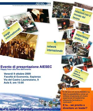 Stage all'estero con l'Exchange project di Aiesec