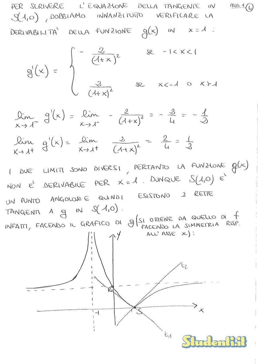 Maturità 2010: svolgimento seconda prova matematica ...