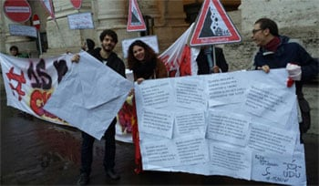 #15nov proteste studentesche in tutta Italia