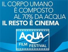 Prima edizione dell'Aqua Film Festival 2016